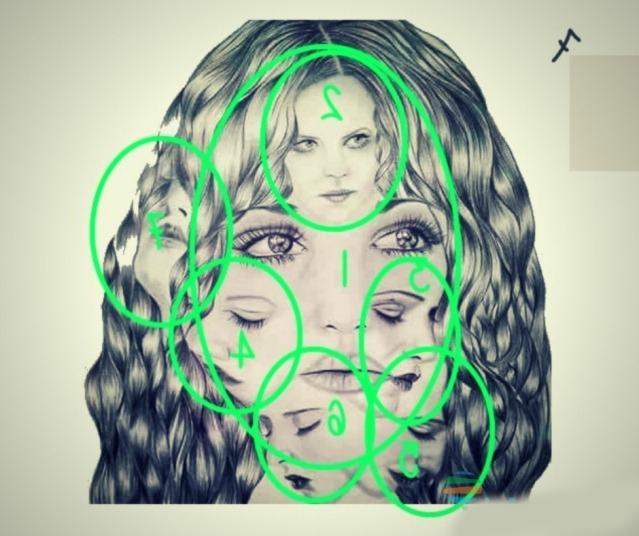 Тест вашего подсознания: сколько лиц на картинке?