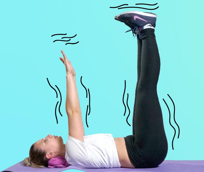 Мощная прокачка: Супер упражнения для разгона лимфы и избавления от отеков